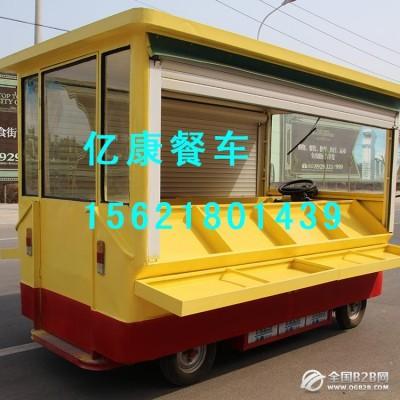 山东亿康水果车 移动水果车 水果车定制加工