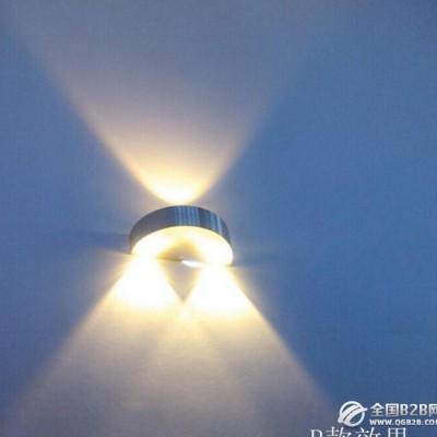 LED铝材灯家装壁灯半圆3瓦过道灯酒店别墅会所KTV酒吧壁灯