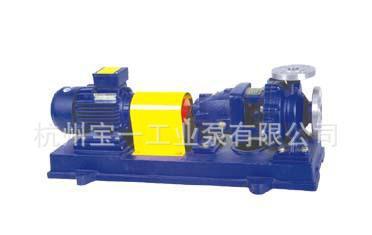 不锈钢化工泵  专业不锈钢化工   IH125-100-250不锈钢化工泵