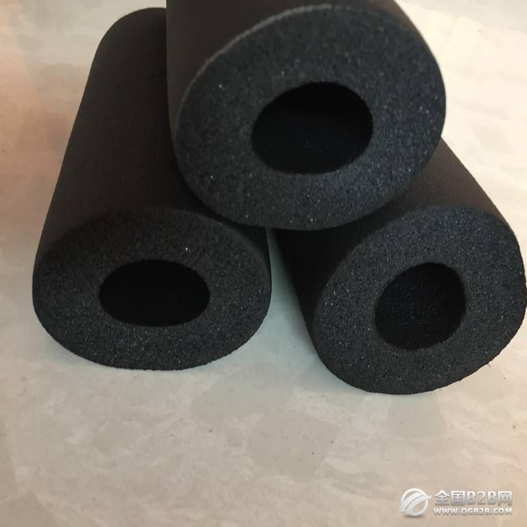 橡塑管 高密度橡塑管 阻燃橡塑管 耐高温橡塑管 b1级橡塑管 黑色橡塑管