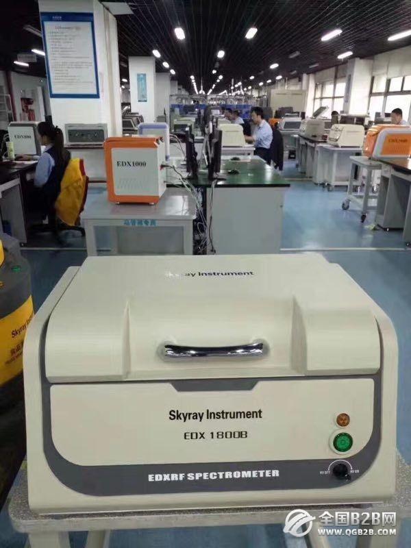 天瑞EDX1800B台式超高性价比ROHS检测仪器厂家ROHS分析仪器ROHS仪器价格