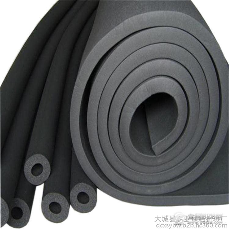 华美橡塑保温板  隔热橡塑海绵 阻燃  铝箔橡塑板  厂家批发