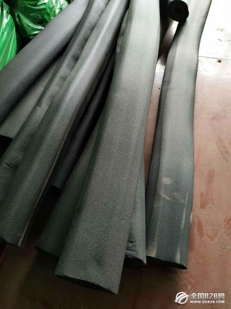 环保橡塑橡塑管阻燃橡塑铝箔保温橡塑管