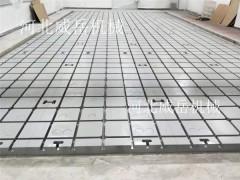 铸铁试验平台 经久耐磨 稳定性强 河北威岳诚意经营