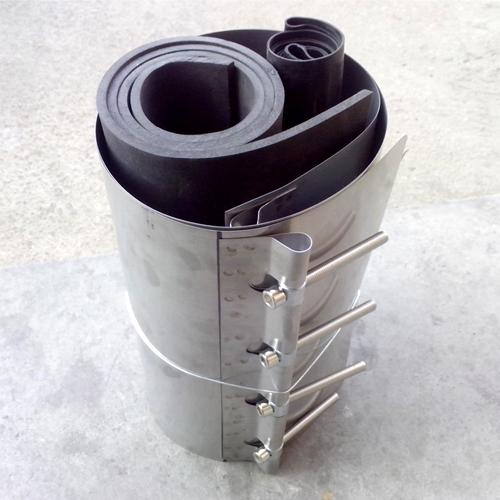 中空壁缠绕管连接接头的不锈钢卡箍抱箍