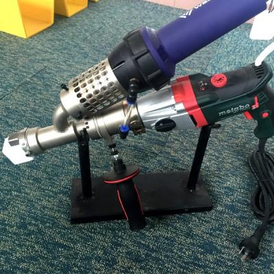 pe管修补焊枪钢带管连接手提塑料挤出焊枪热风枪