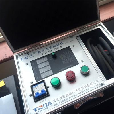 HDPE增强缠绕B型管电热熔焊接机