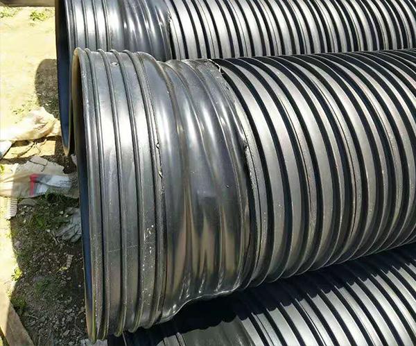 排雨水管农村排污管改造管道热收缩套