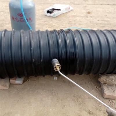 HDPE钢带波纹管连接热缩套热收缩套