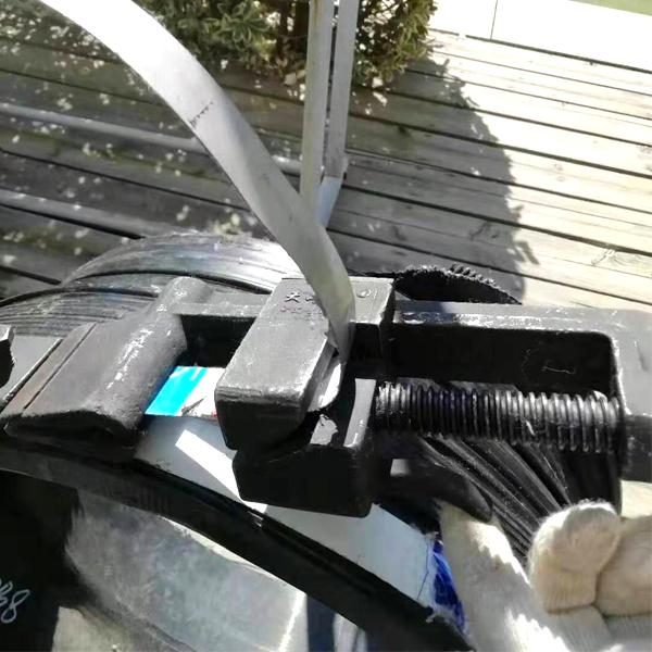 排水管道内肋管克拉管固定捆紧器涨紧器
