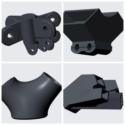 河北大型铸造厂 铸钢节点厂家 供应大型 铸钢节点 铸铁