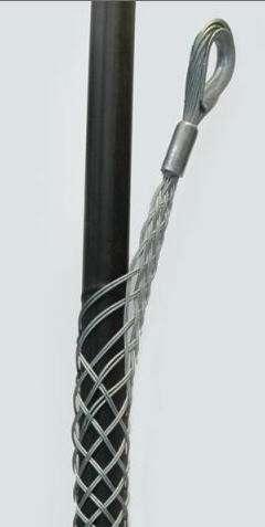 双侧拉电缆网套,双拉眼电缆牵引网套,双头拉线网套