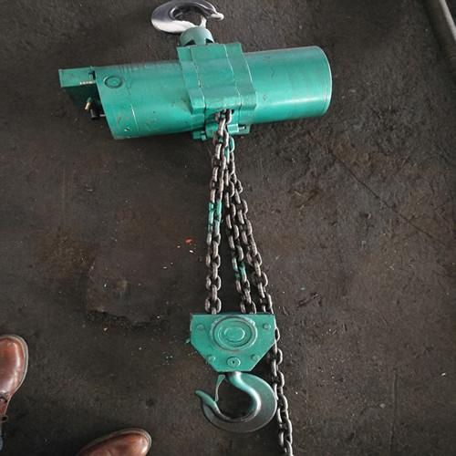 矿用起重设备气动葫芦组成及使用特点