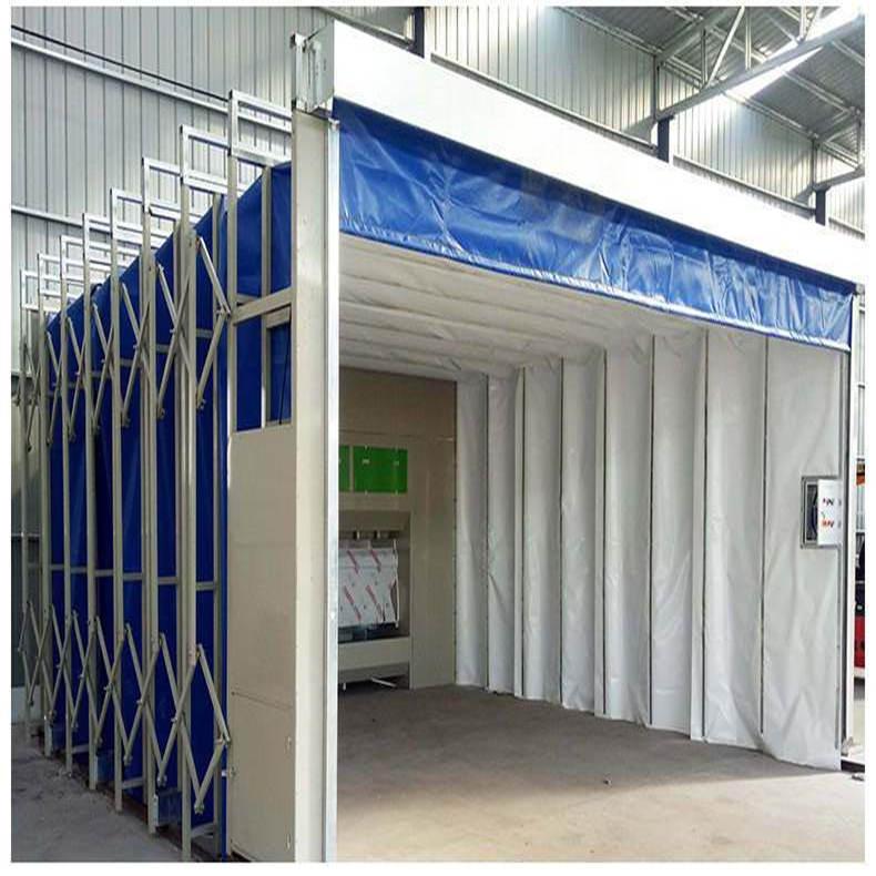 全自动伸缩喷漆房 生产销售一体化服务