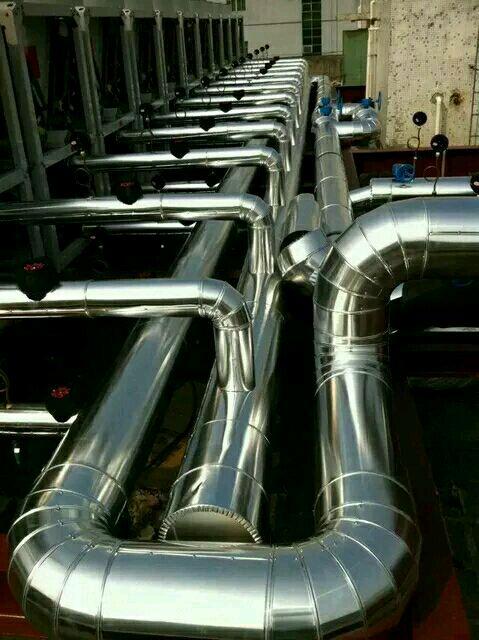 不锈钢管道保温工程聚氨酯设备防腐保温