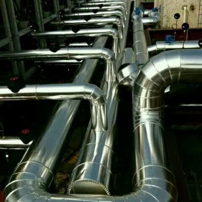 硅酸盐板铁皮保温工程设备高温管道保温承包