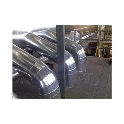 换热站白铁皮保温单位玻璃棉板管道保温工程公司