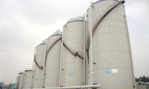 罐体保温工程施工流程铝箔岩棉毡彩钢板保温