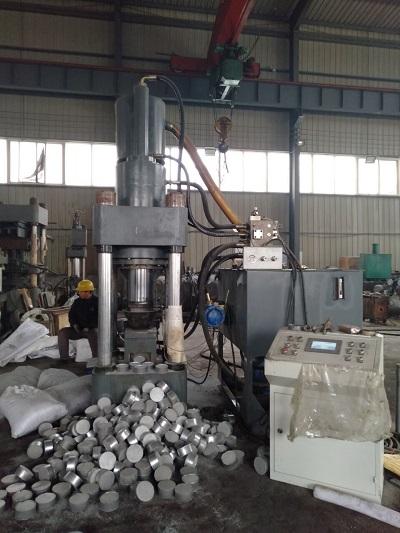 唐山全自动铝屑压块机所具备的特点特性Y