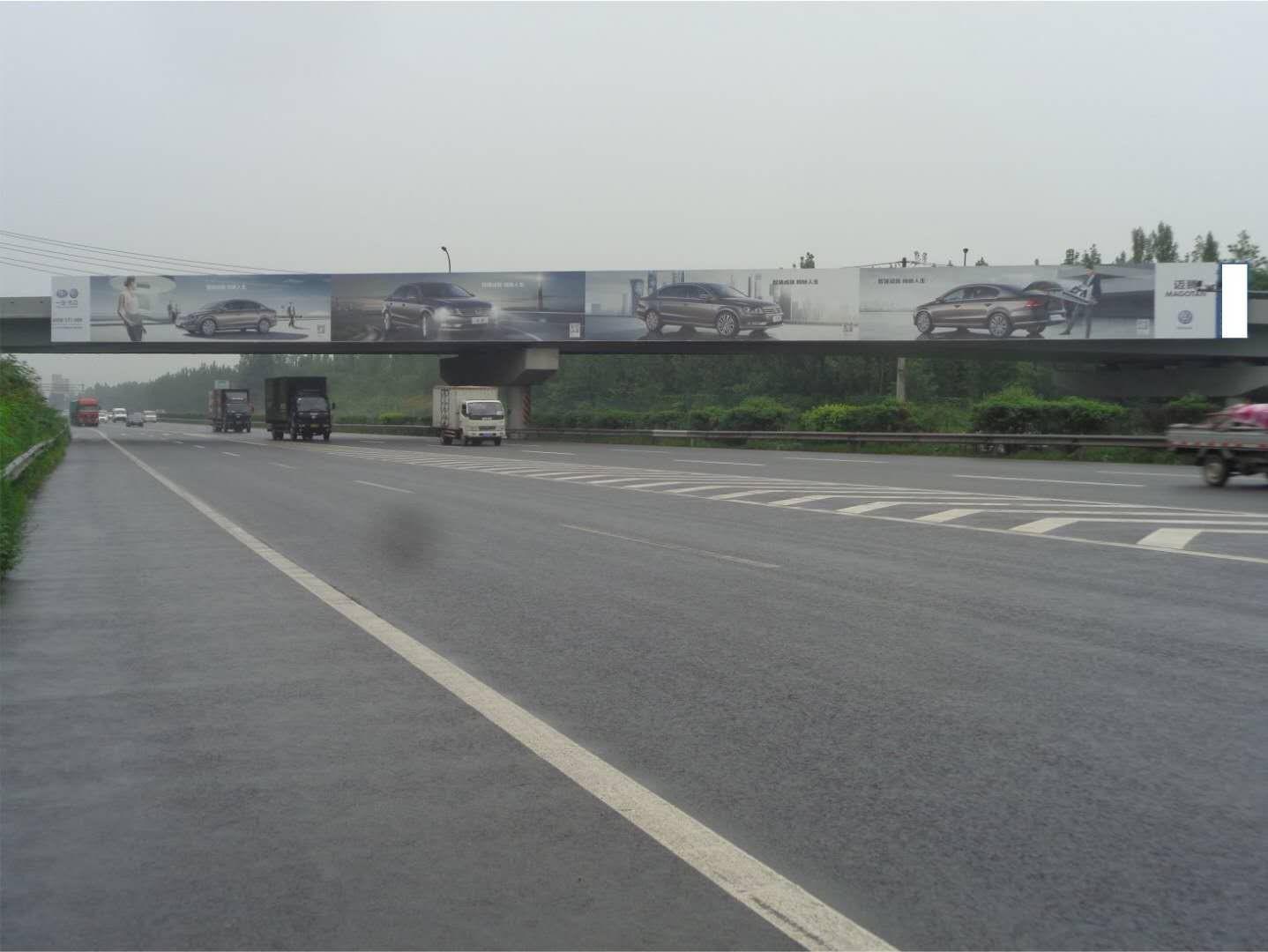 成南高速公路优质跨线型天桥广告位推荐及报价