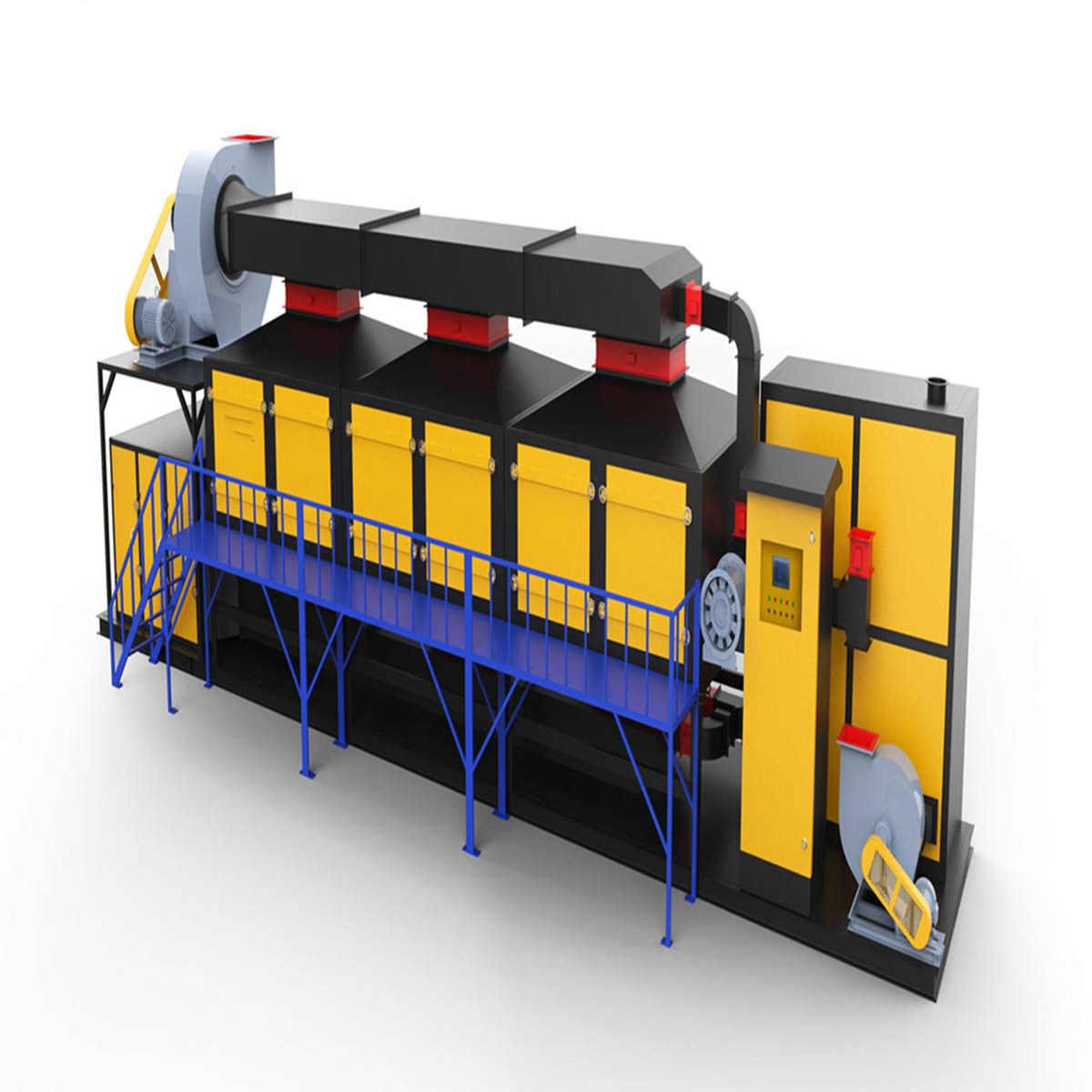 VOCS废气处理催化燃烧 2万3万5万各种风量