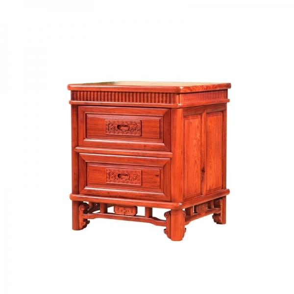 刺猬紫檀/缅花高端卧室家居红木大床
