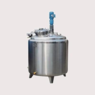 万宁鸿谦 304电热不锈钢搅拌罐 化妆品搅拌罐 支持来图定制