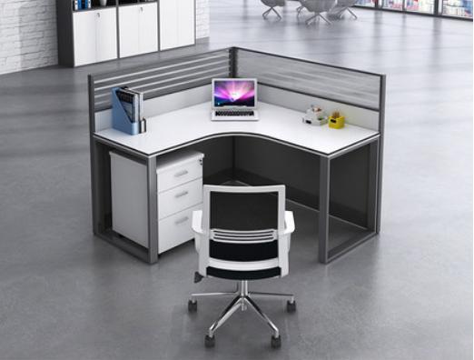 职员办公桌屏风组合工位卡座办公室转角桌子员工桌沈阳办公家具