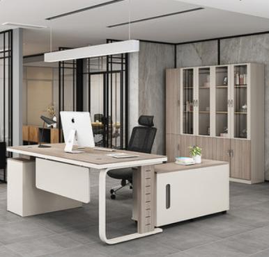 沈阳老板办公桌家用简约现代老板桌设计感时尚单人大班台办公家具
