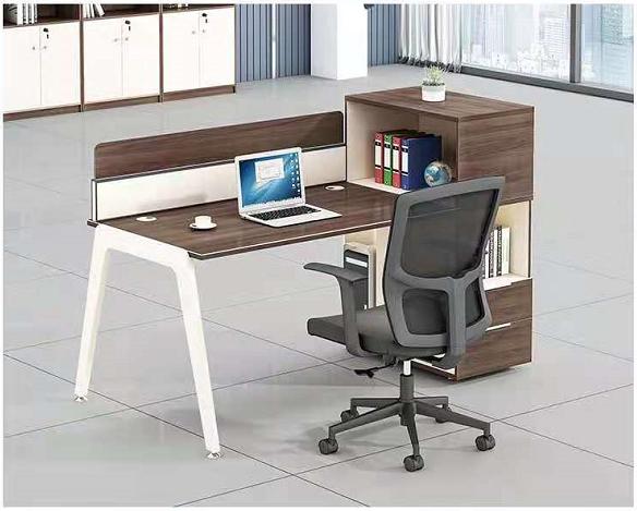 沈阳写字楼办公桌4人位办公室双人工业风财务桌职员桌