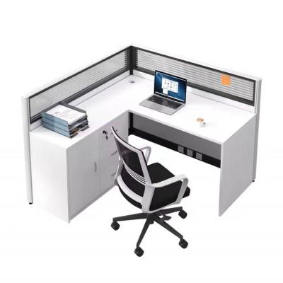 沈阳现代简约职员屏风隔断组合办公桌双人卡位工位桌单人电脑桌