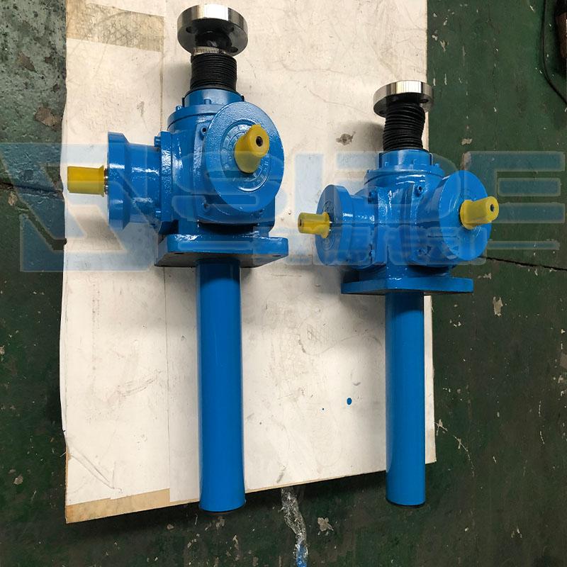 赛德SNL80丝杆升降机蜗轮电动升降器厂家多台联动升降平台